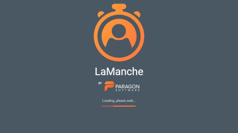 Lamanche app to set up 9 80 shcedule