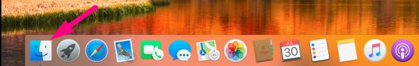 Data migration for mac - finder window